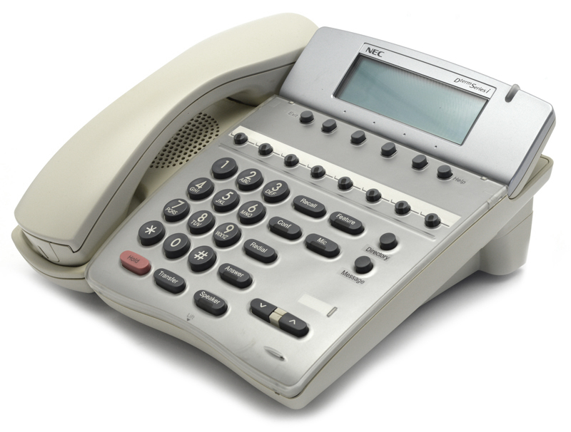 Системный телефон NEC Dterm Series i DTR-8D-2 White б/у