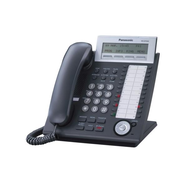 Системный телефон Panasonic КХ-DT333RU-B