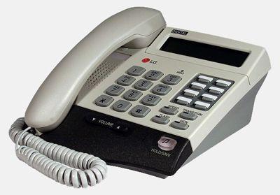Системный телефон LG LKD-8DS б/у с гарантией 1 год