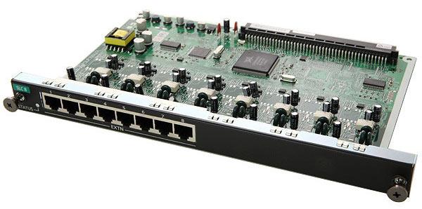 Карта Panasonic KX-NCP1173XJ (цифровая плата на 8 аналоговых внутренних портов) б/у