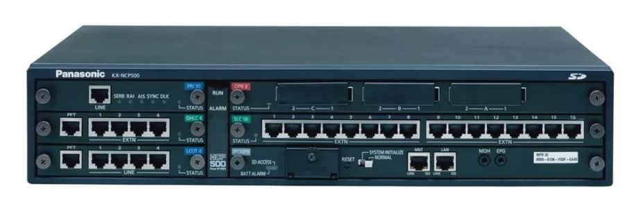 IP-АТС Panasonic KX-NCP500RU б/у